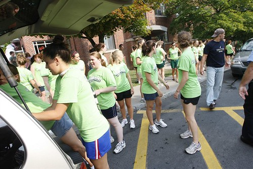 move in | by Le Moyne College