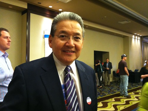 MYDhq Arizona Democratic Party communications director Frank Camacho says we won't really know who wins senate and congressional races due to 300-400,000 votes not being counted | by cronkitenews