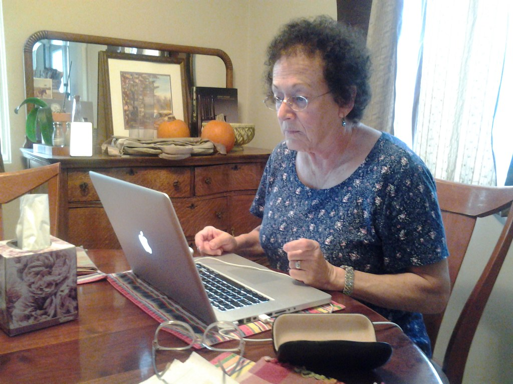 Image result for grandma computer