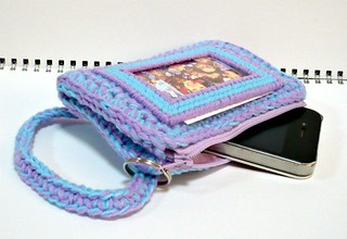 Zippered Crocheted Purse | by Melbangel acct #2