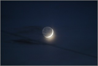 Crescent Moon. | by John C McConnell F.R.A.S., F.B.I.M.S., I.M.C.A.