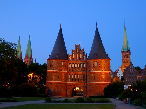 The Holsten Gate in Lübeck, Germany | by Frans.Sellies