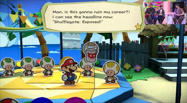 Paper Mario: Color Splash GamerGate