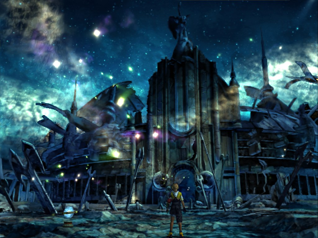 Final Fantasy X FFX HD Wallpaper Set18 Zanarkand Ruins 13 DOME LANDSCAPE