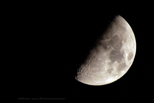 Half moon | by NOUF M SAAD