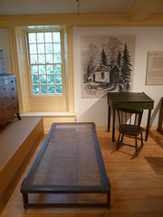 Thoreau's bed and desk