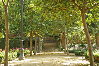 Jardins de Laribal, Barcelona | by gavinwray