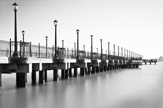 Pier 7 (side, B&W) | by Ron Rothbart