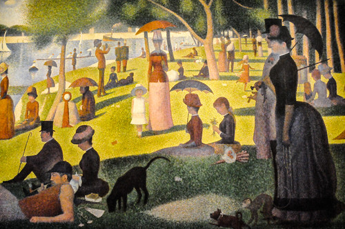 Georges Seurat - A Sunday on La Grande Jatte - 1884, 1886 at Art Institute of Chicago IL | by mbell1975