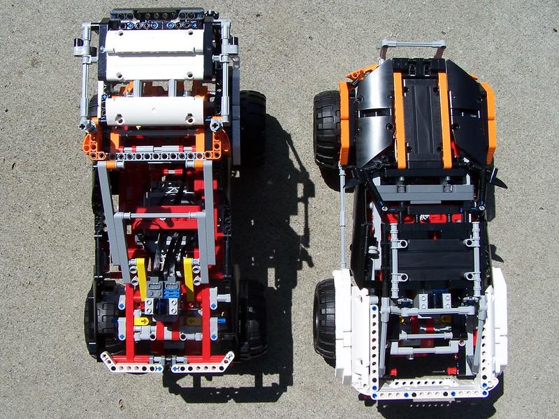 Lego Technic 9398 B Alternate Model 4x4 Offroad Truck Flickr