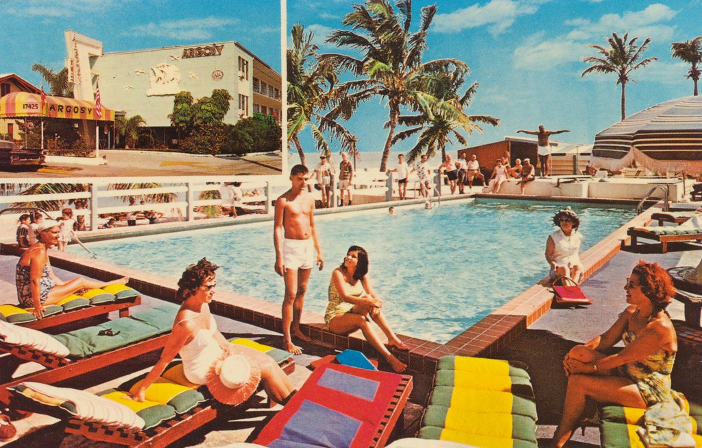 Argosy Motel - Miami Beach, Florida