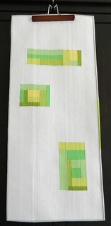 improv pieced table runner | by s.o.t.a.k handmade
