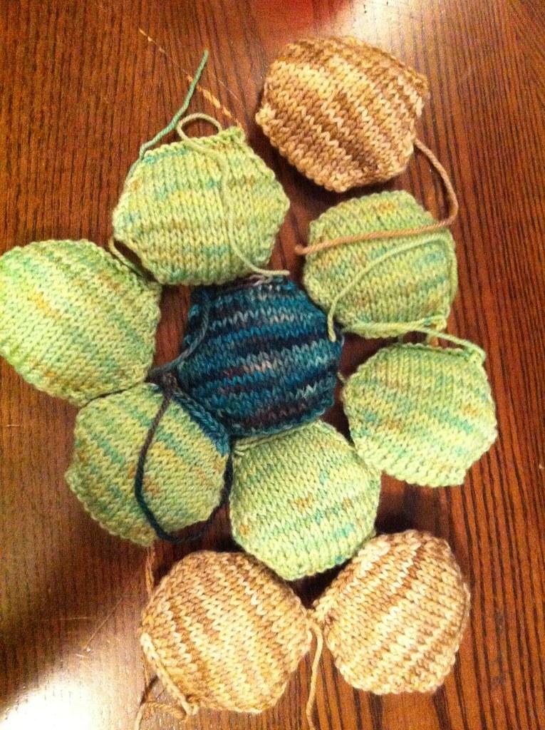 Ravellenic Games 30 Hexipuffs Project Puffs 1 10 Knittingfairy01