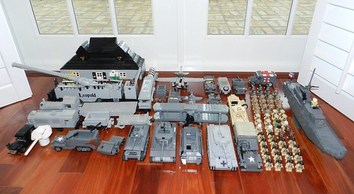 Legoliner Pilot's Total WWII Collection | by LegoIiner PiIot