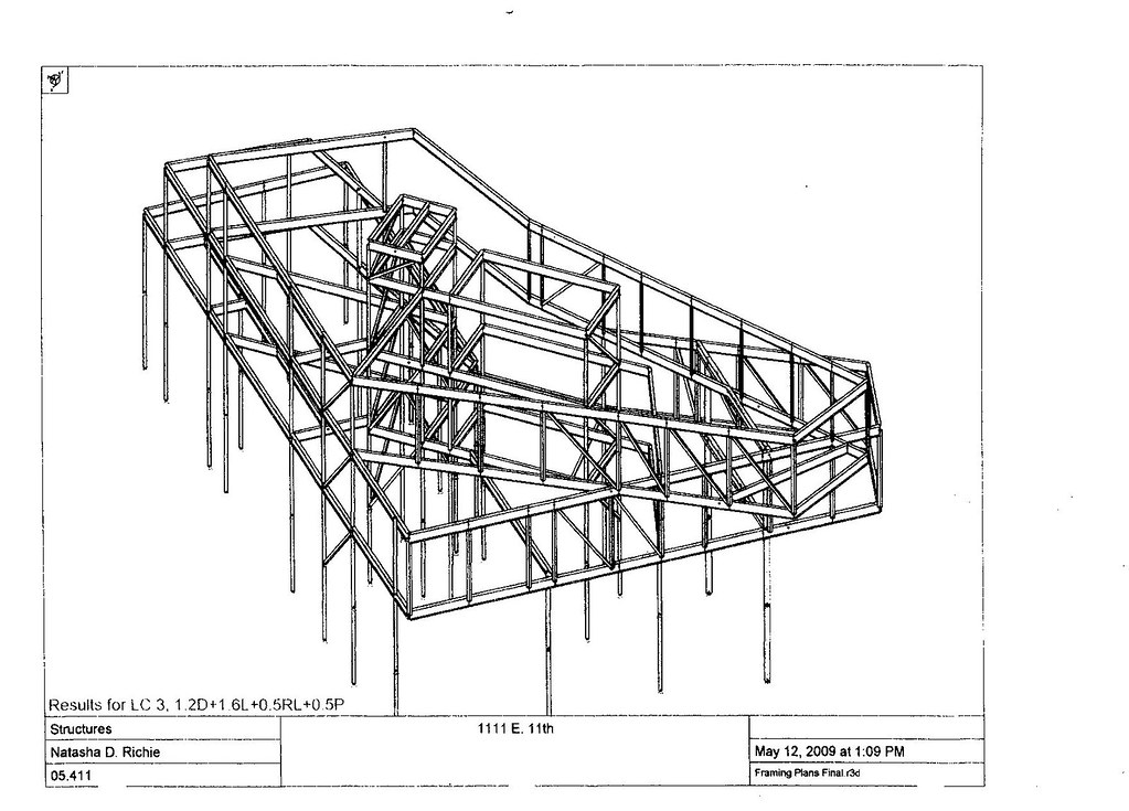 E. 11th St. Mixed-use. Structural framing diagram 3 | Flickr