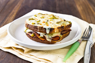 Hatch Chile Croque Monsieur | by TheBrewer&TheBaker