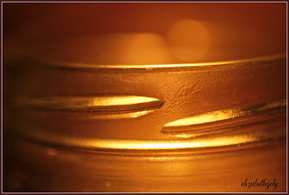 Rim of Jar--MacroMonday-CandleLit | by elizgely