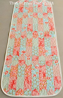 Bookmarks runner | by That Girl, That Quilt
