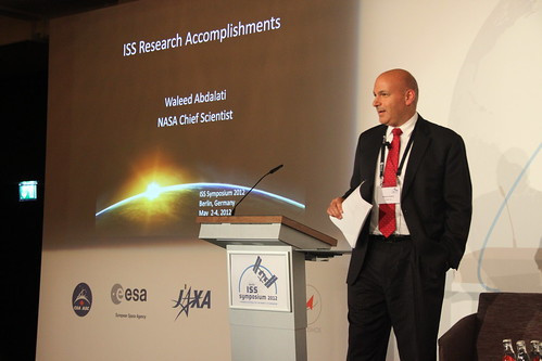 ISS Symposium 2012 Day 2 - Waleed Abdalati | by ESA_events