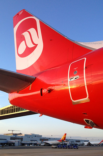 Air Berlin - D-AHXF tail | by Andrew_Simpson