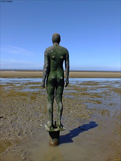Crosby Beach Antony Gormley statues 130712 | by Liz Callan Photographs