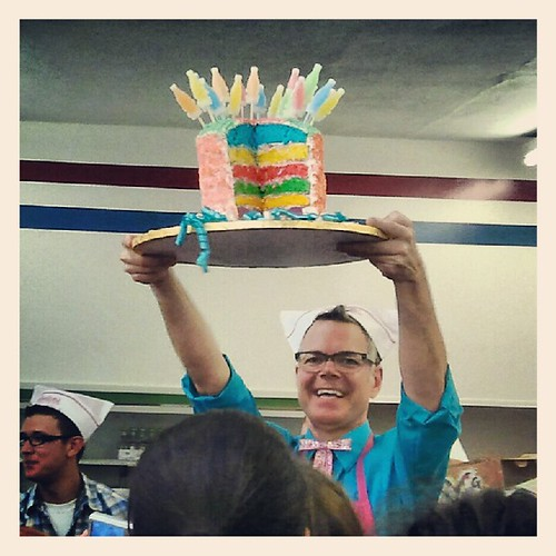 Charles Phoenix & His Seven Layer Soda Pop Rocks Cake | by Jodi K.