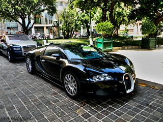 Bugatti With Rolls royce. | by River photographie