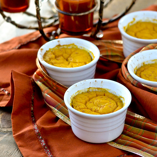 Butternut Squash Souffle - Gluten-free + Dairy-free