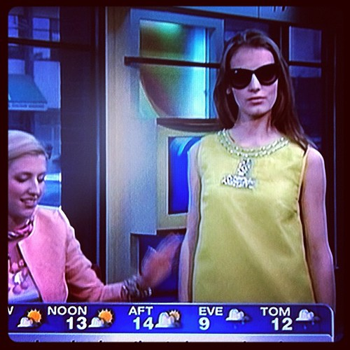 My gorgeous niece Lauren modeling on TV! | by Mark & Andrea Busse