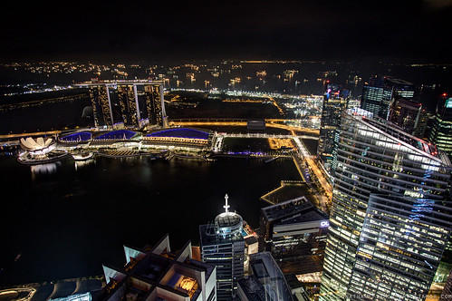 Marina Bay and the estuary | by . : Jonathan Fiamor : .