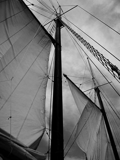 sails on an old ship | by Lamia Hossain