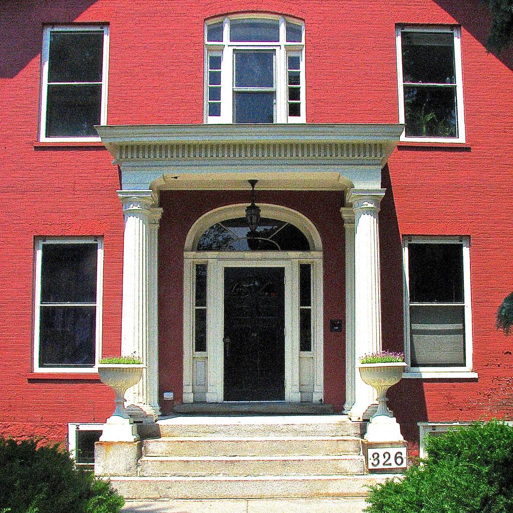 john peck house harrington apartments 1830 main entr flickr