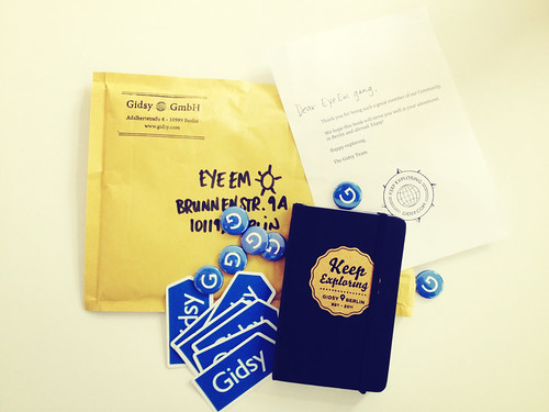 Oh, Thank You @gidsynews for the explorer swag pack | by i keep record°