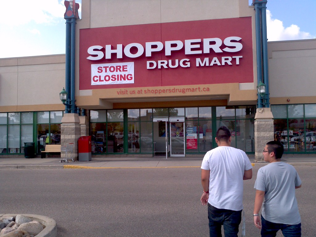... Shoppers Drug Mart Store Closing/Automatic Sliding And Swinging Doors |  By Huy Dang