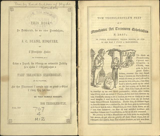 Art Treasures Exhebishan (sic) 1857