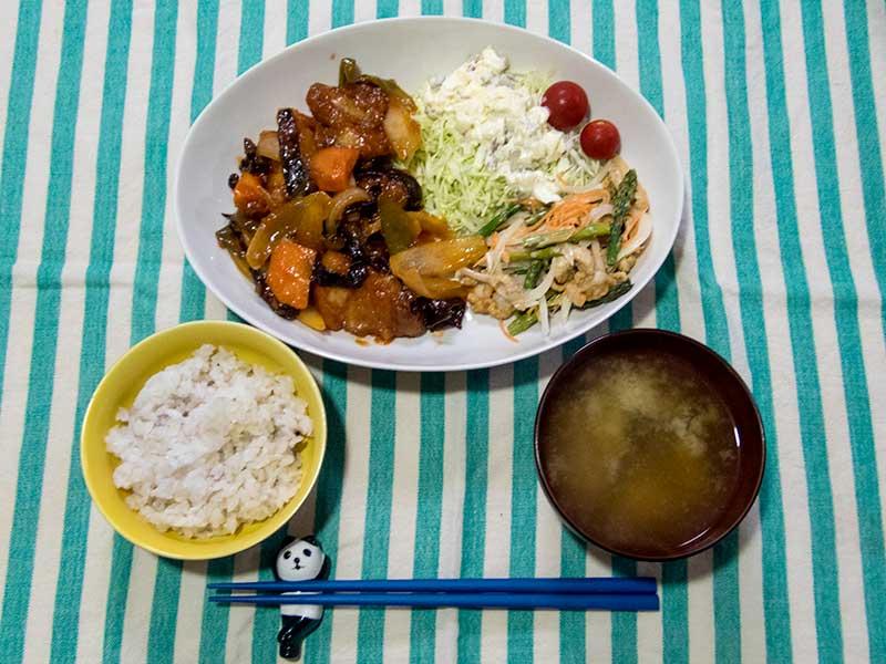 2016年6月5日の晩ご飯