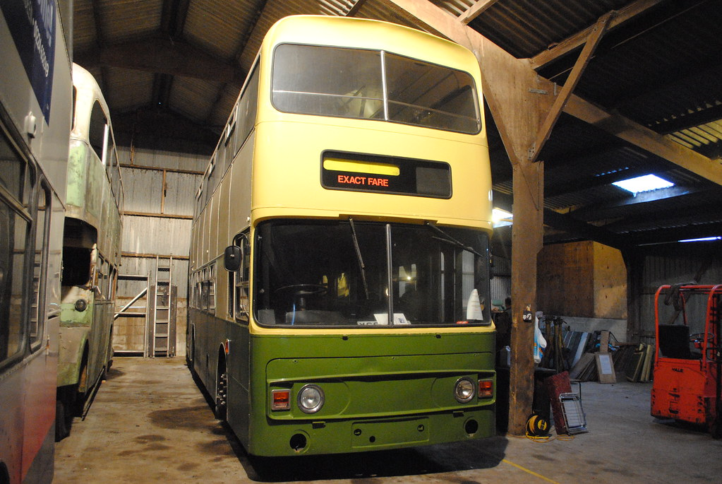 the bus collection at alford
