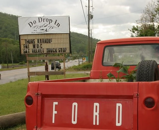 1963 ford econoline pick up truck | by liongrrl