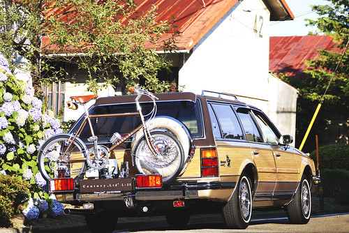 Buick Century Limited Station Wagon, w/ Bianchi Mini Velo7. | by Web & Graphic Design.