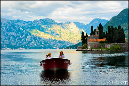 Perast - Boat Ride in the Bay of Kotor with St. George Island | by Yen Baet