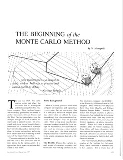 The Beginning of the Monte Carlo Method | by Los Alamos National Laboratory