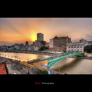 Mong Bridge -  when the sun is going down.... | by [David] Phan