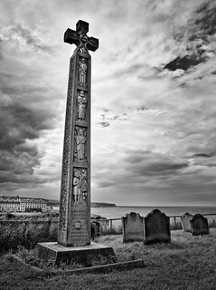 Cross at Whitby, North Yorkshire | by dave in norfolk