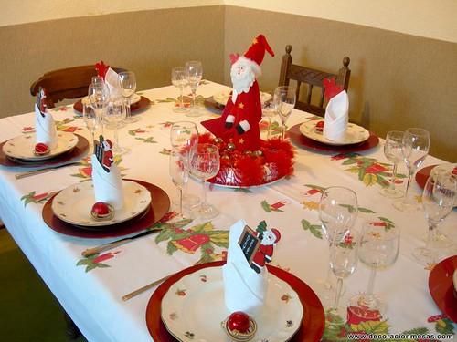 Decoracion mesa navidad papa noel decoracionmesas flickr - Decoracion mesa navidad ...