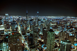 Gotham City - Chicago from John Hancock | by Kumaran Alagesan