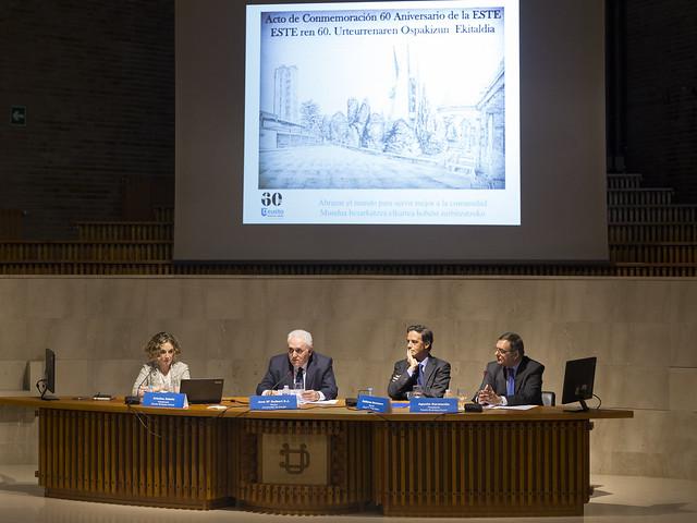 Acto de Conmemoración del 60 Aniversario de la ESTE, Deusto Business School