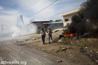 Demonstration in Kfer Qaddum against the occupation and settlements, West Bank, 13.04.2012 | by Activestills