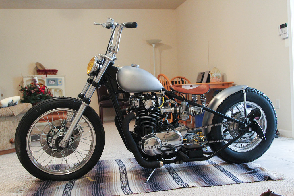 Yamaha XS650 XS 650 Bobber Remote Controlled TampaSVT