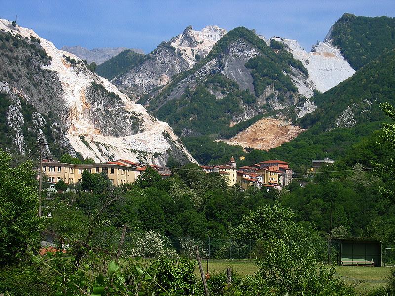 Carrara Marble Mountain Italy Flickr