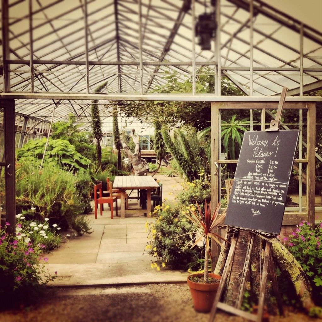 Potager Garden Cornwall 033 | potager garden and glasshouse … | Flickr